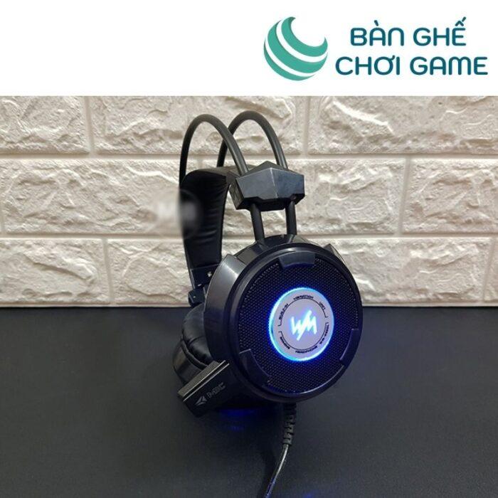 Tai nghe game WangMing WM8900 Jack 3.5mm - Đen