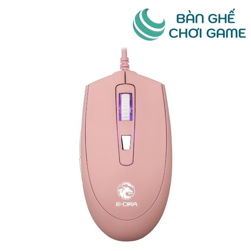 chuột gaming e dra em614 pink