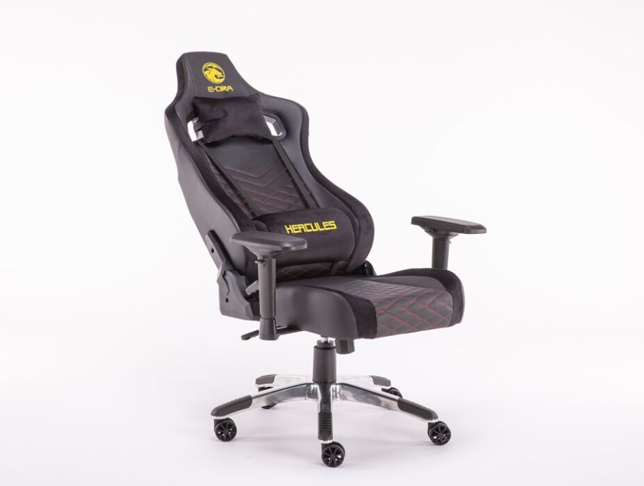 ghế game e-dra hercules egc203 pro đen - h3