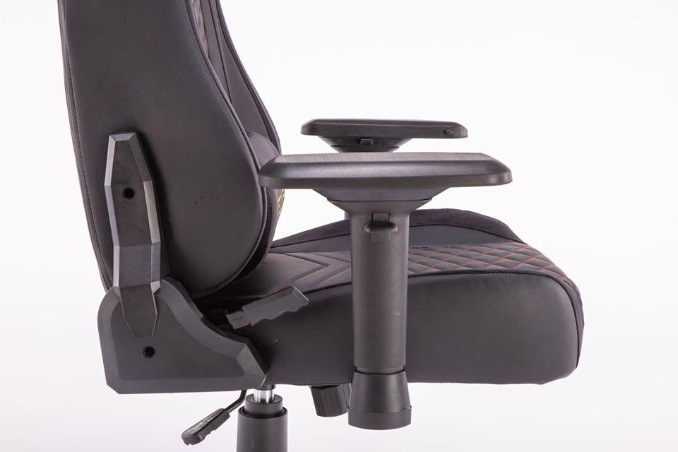 ghế game e-dra hercules egc203 pro đen - tay ghế
