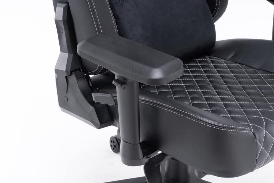 ghế chơi game e-dra ultimate egc2020 lux da thật đen