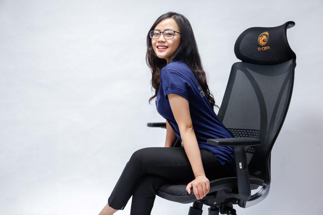 ghế văn phòng e-dra venus egc211 đen