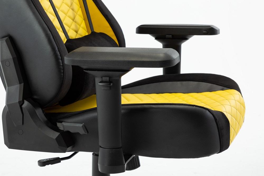 ghế game e-dra hercules pro egc203 vàng tay 4D