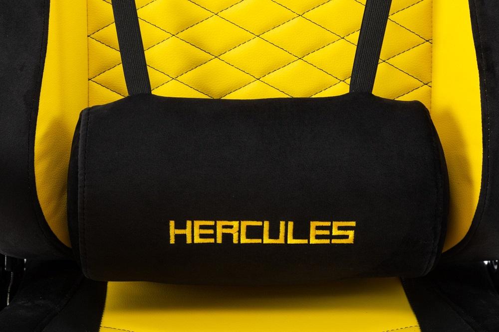 ghế game e-dra hercules pro egc203 vàng gối lưng