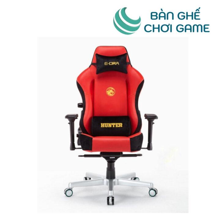 ghế chơi game e-dra hunter egc206 màu đỏ