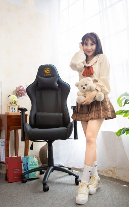 ghế game e-dra mars egc202 đen
