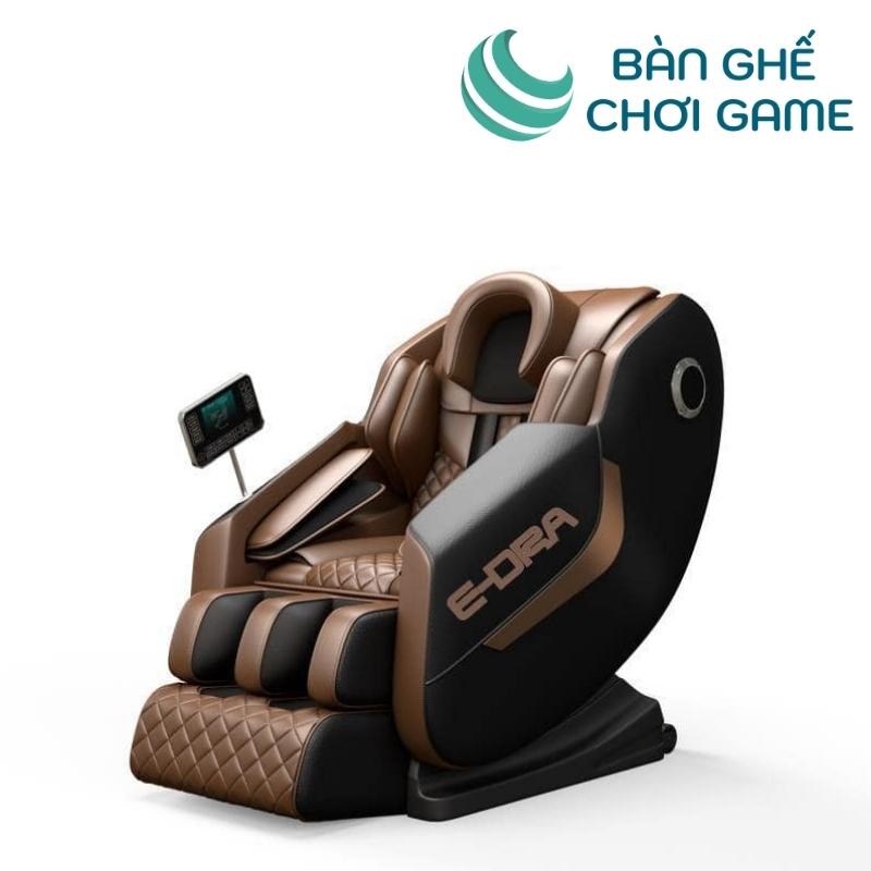 ghế massage e-dra hestia emc100 nâu