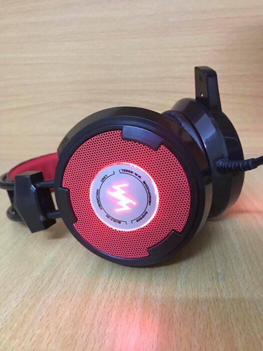 tai nghe gaming wangming wm8900 đỏ đen h2