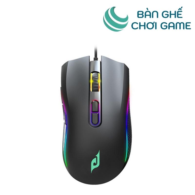 chuột chơi game e-dra em624 đen