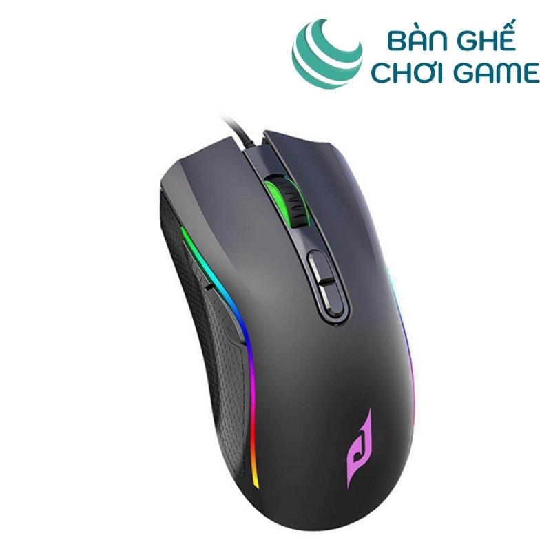 chuột chơi game e-dra em624 đen -2