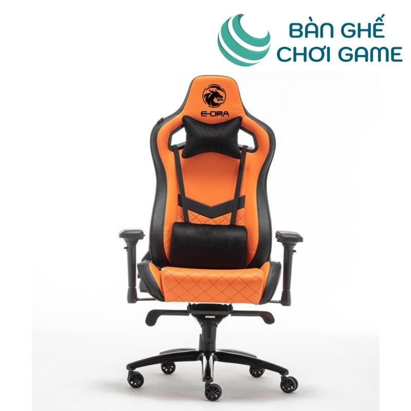 ghế chơi game e-dra iris egc228 màu cam