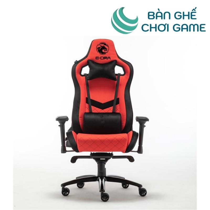 ghế chơi game e-dra iris egc228 màu đỏ