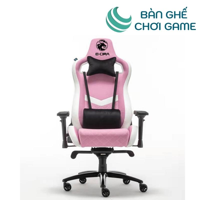 ghế chơi game e-dra iris egc228 màu hồng