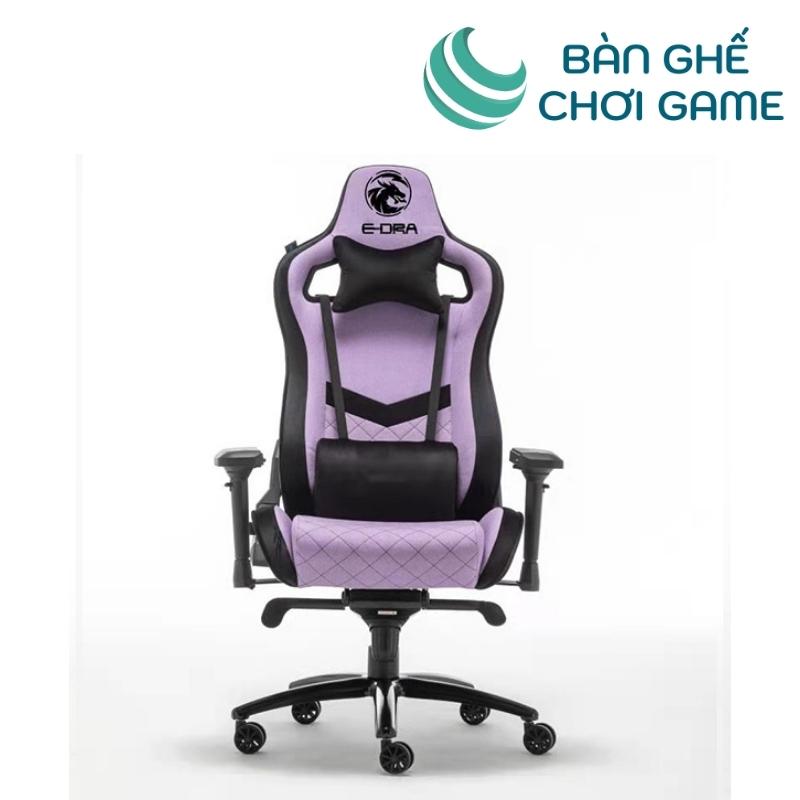 ghế chơi game e-dra iris egc228 màu tím