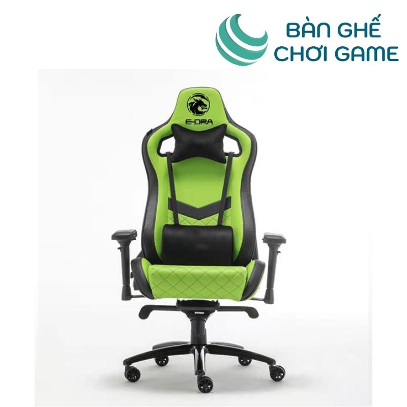 ghế chơi game e-dra iris egc228 màu xanh lá