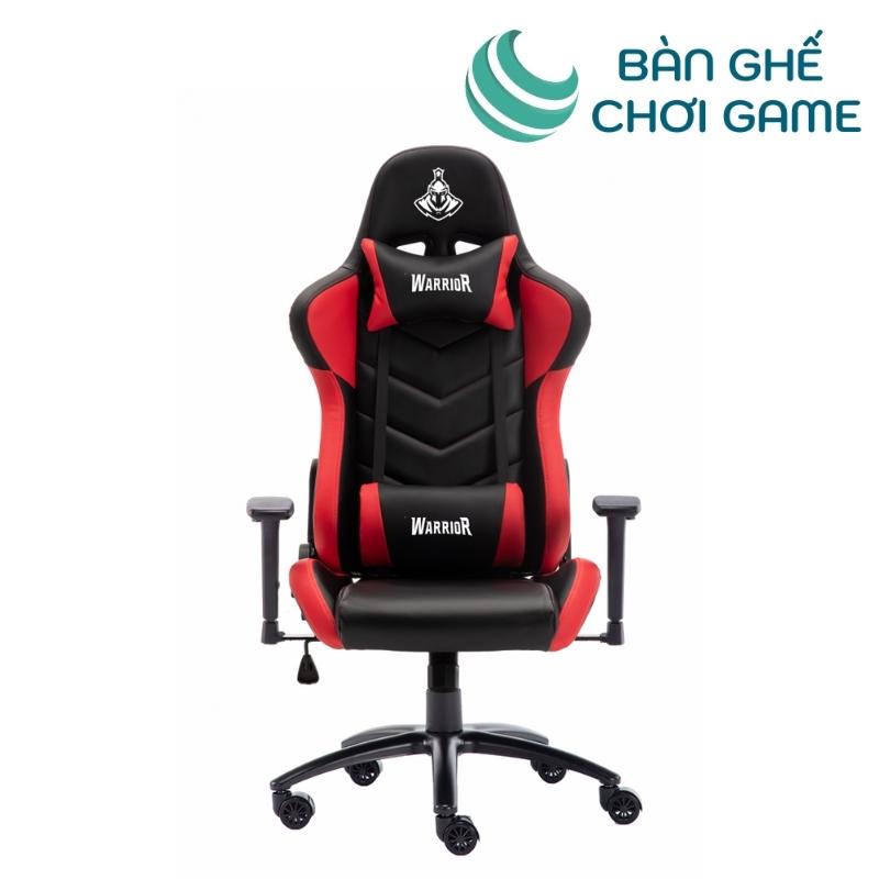 ghế chơi game warrior raider wgc206 đỏ đen