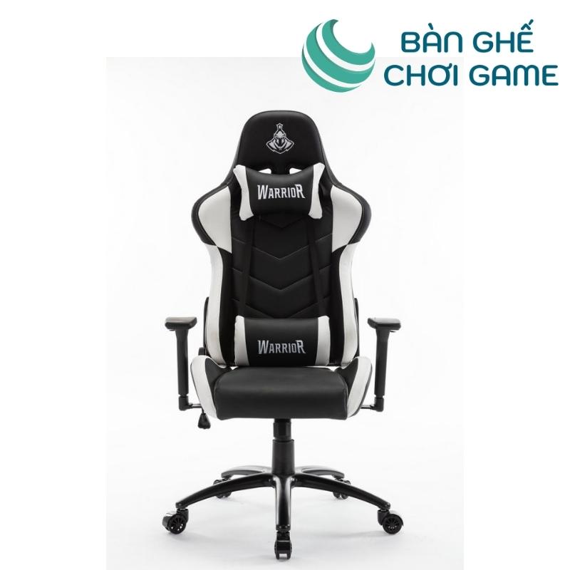ghế game warrior raider wgc206 - trắng đen