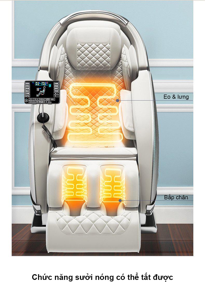 Ghế massage E-Dra Hestia EMC111 h7