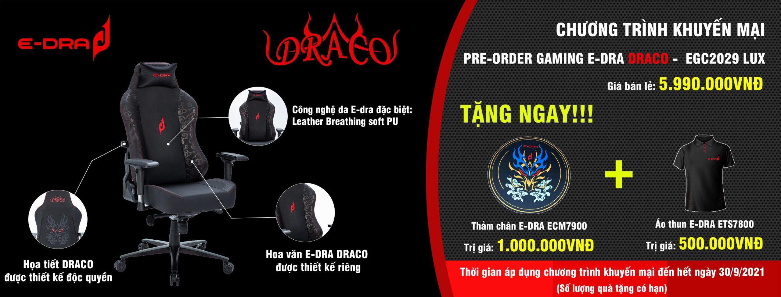 e-dra draco egc2029 lux pre order